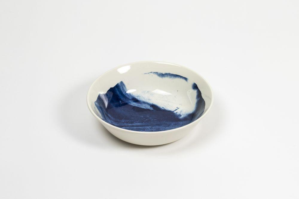 Indigo Storm Bowl  by 1882 Ltd