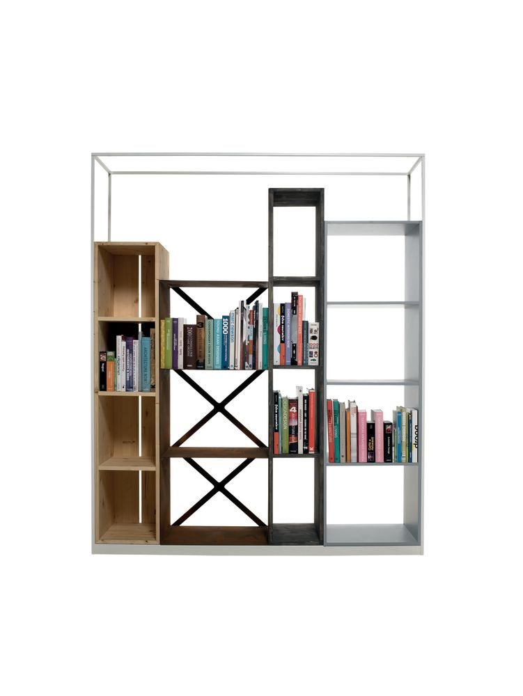 Industry Bookshelf by Casamania