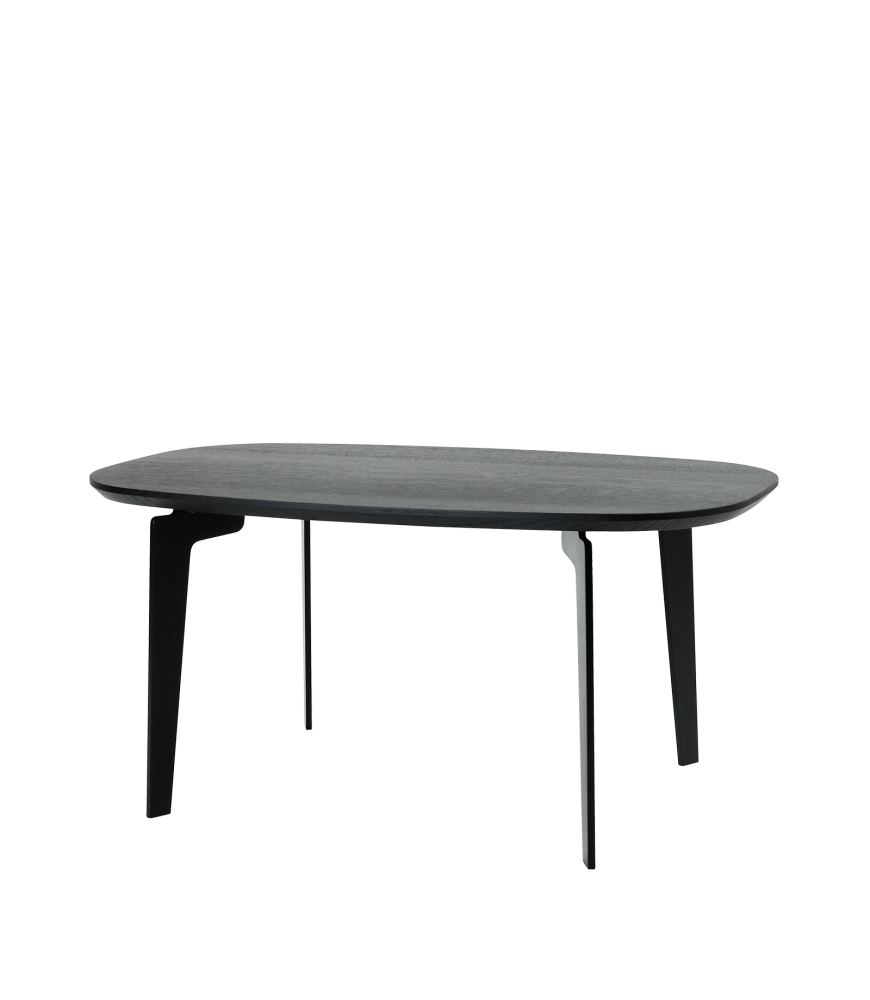 table grey cool coffee goods room products made coolgray oval living round cara gray