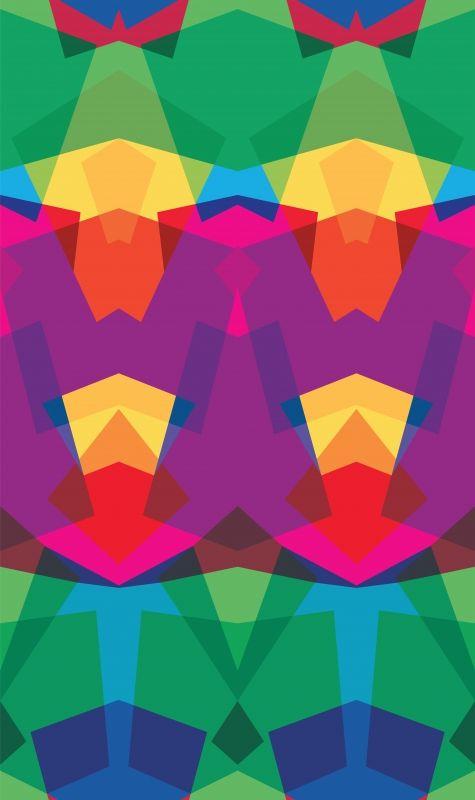 Kaleidoscope Wallpaper by Sonya Winner Studio