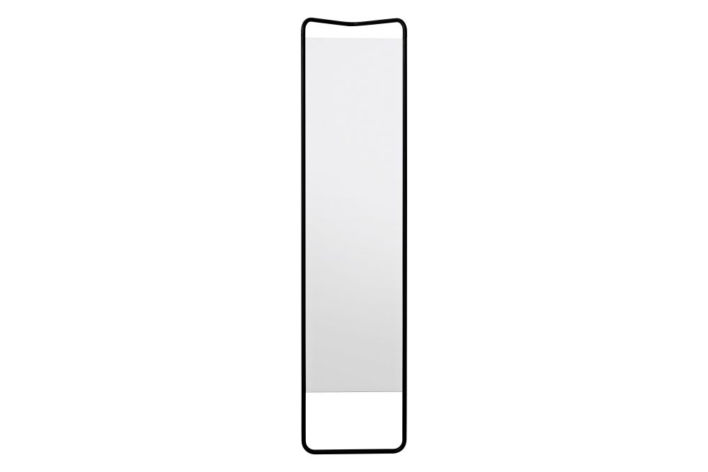 Kaschkasch Floor Mirror Black by KaschKasch Cologne for Menu