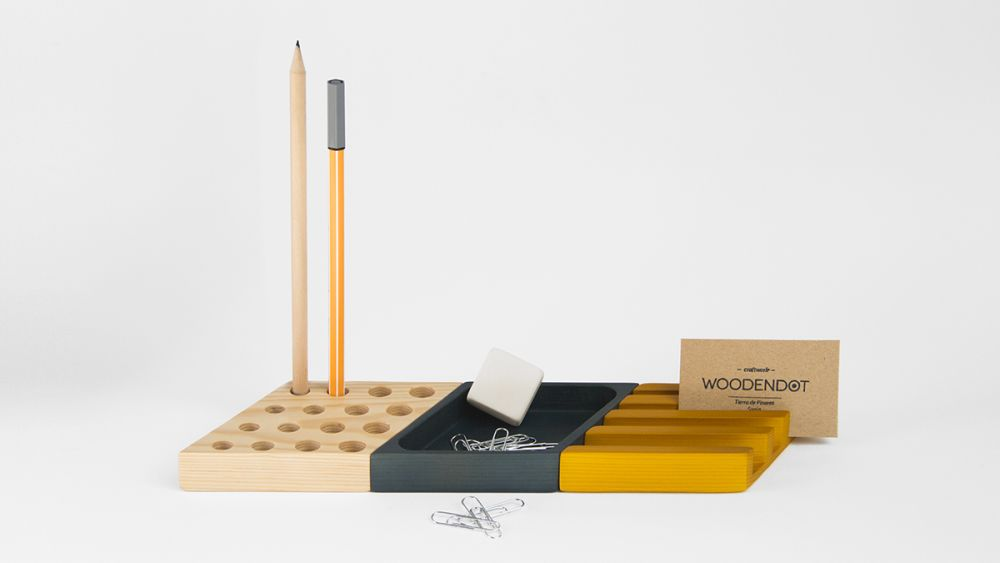 Kesito Desk Tidy by WOODENDOT
