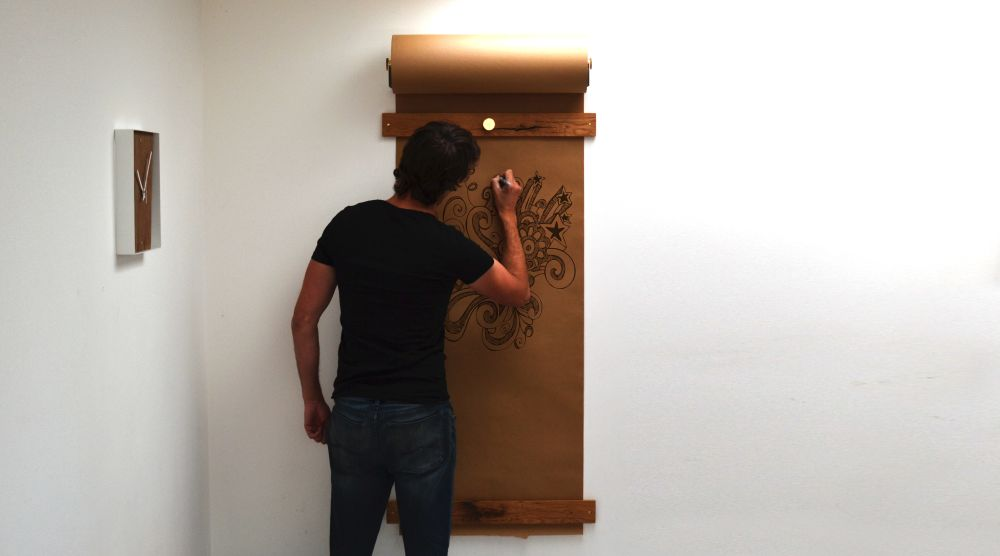 Kraft Paper Notice Board by Jam Furniture