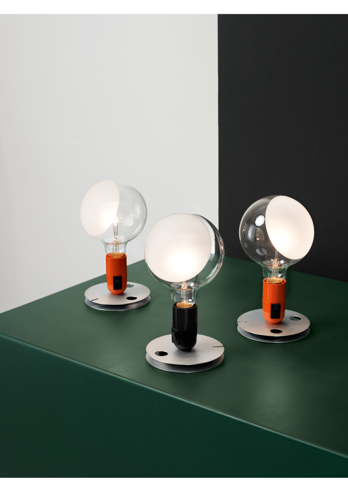 A Table Lamp Conceived By Achille Castiglioni For The Opening Of The Flos  Showroom In Turin In 1972.