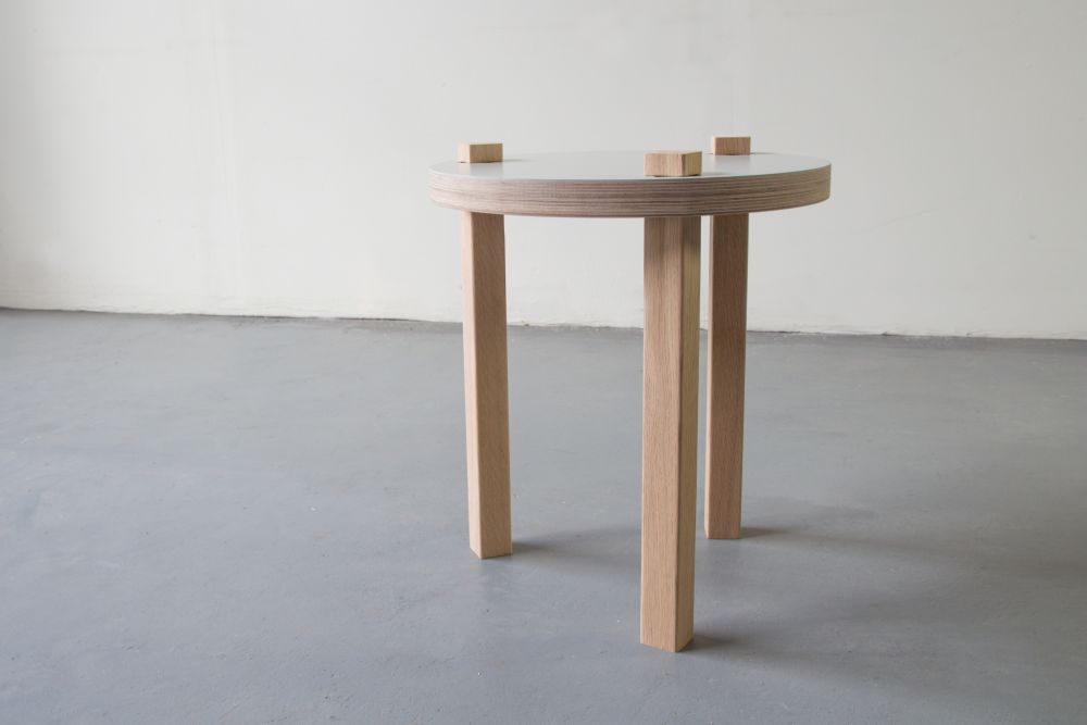 Larry Side Table by Space for Design