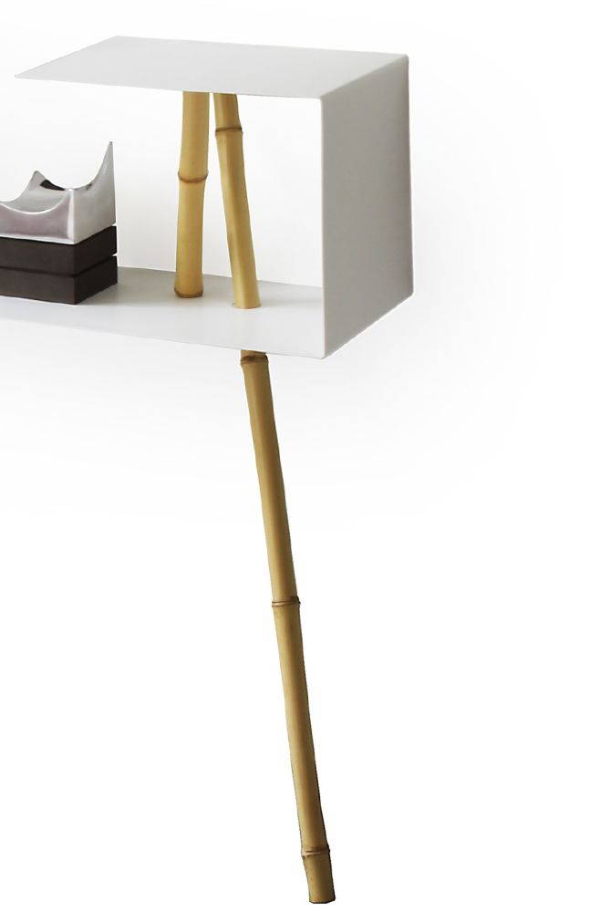 Leaning sideboard -