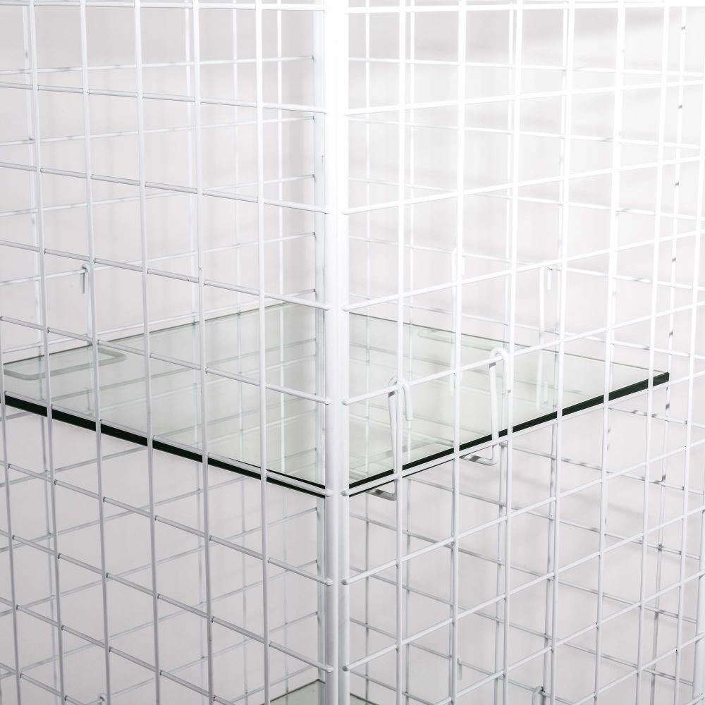 Les Volières Metal Mesh Cabinet Wide by Seletti