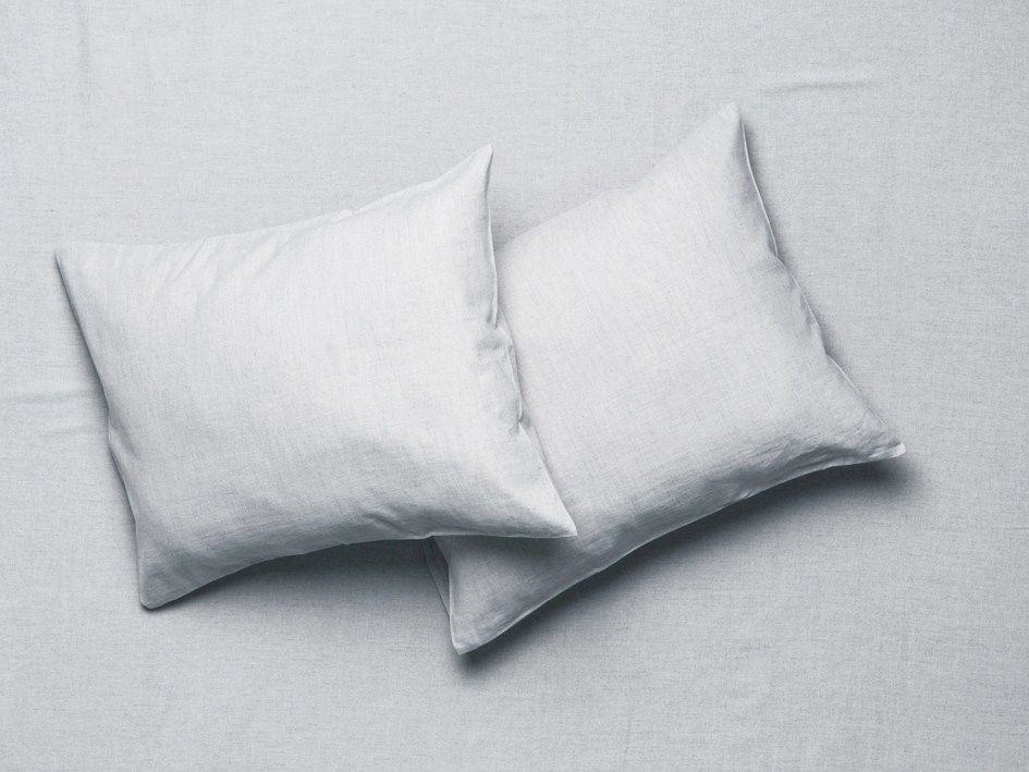 linen pillowcases dove grey