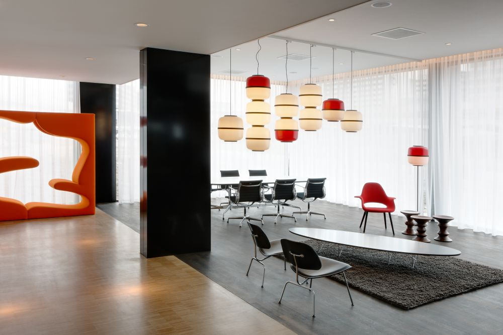 Living Tower Tonus 03 red by Verner Panton for Vitra
