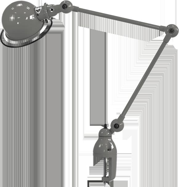 Loft Two Arm Desk Lamp with Desk Support by Jielde