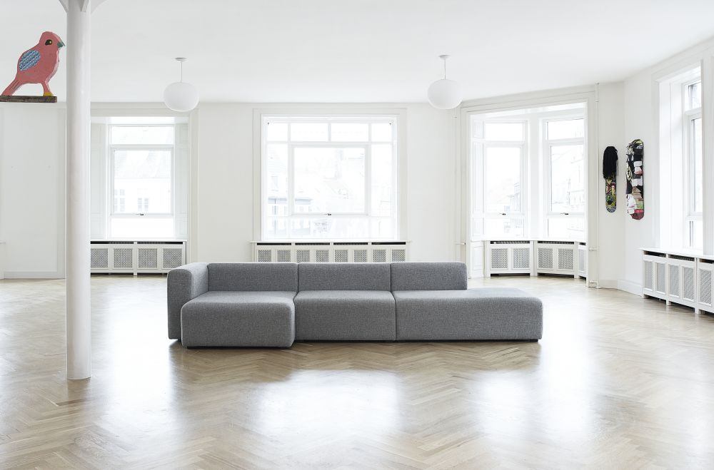 Mags Chaise Lounge Modular Element 8162 - Left by Hay