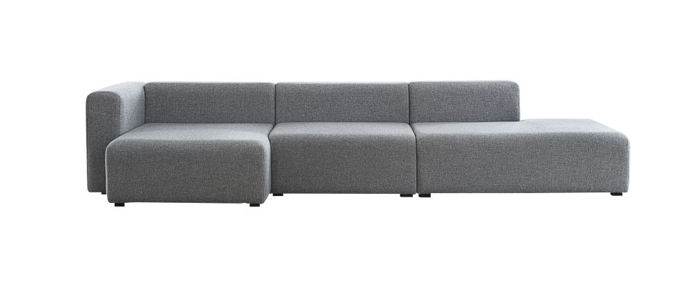 Mags Chaise Lounge Short Modular Element 8262 - Left by Hay