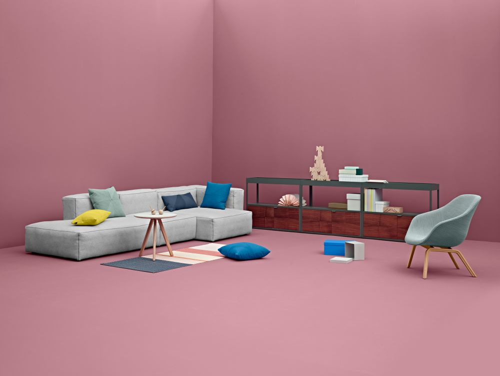 Mags Soft Middle Modular Seating Element S1063 by Hay