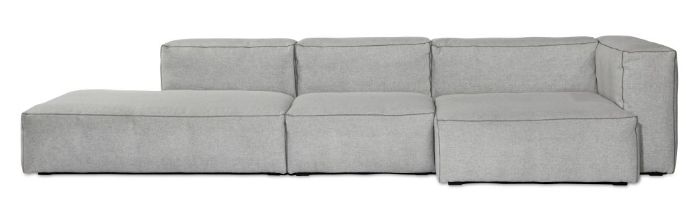 Mags Soft Narrow Modular Seating Element S1061 - Right by Hay