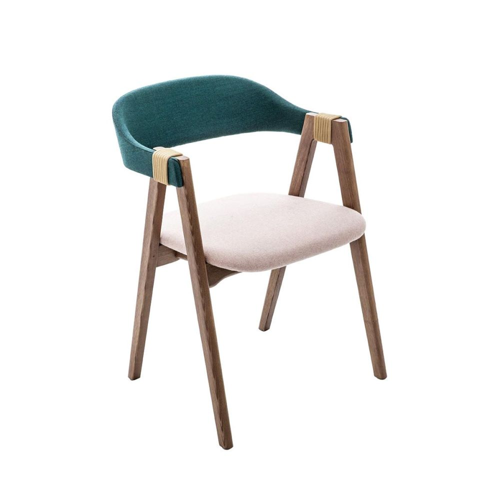 Mathilda Chair With Upholstered Back By Moroso Clippings