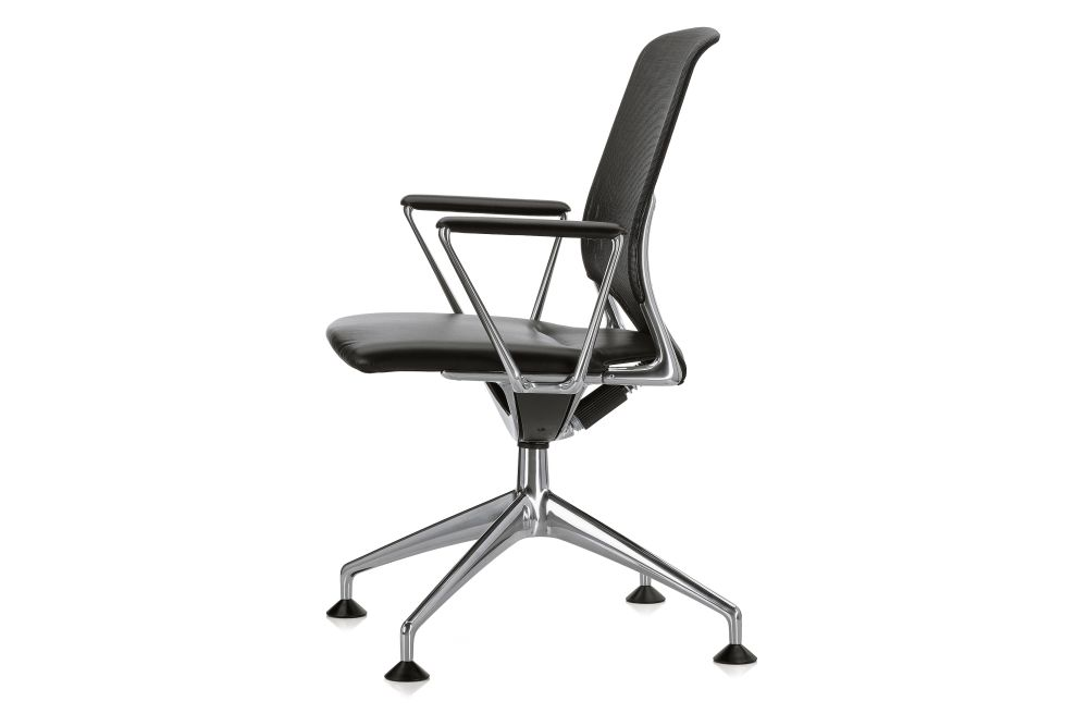 Meda Conference Chair with Armrests by Vitra