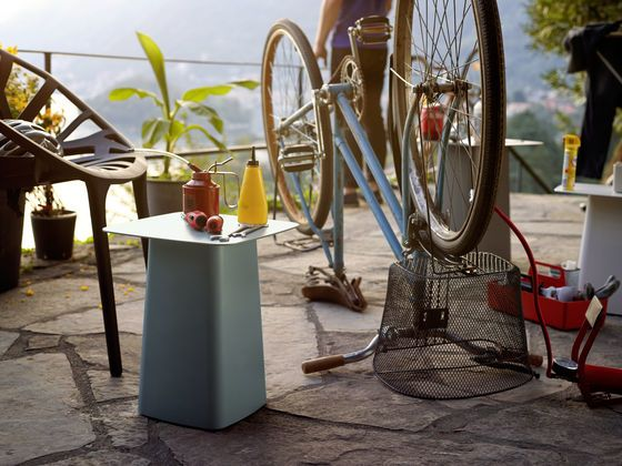 Metal Side Table by Vitra