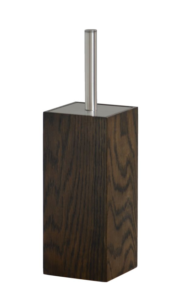 Mezza Toilet Brush Dark Oak by Lincoln Rivers for Wireworks