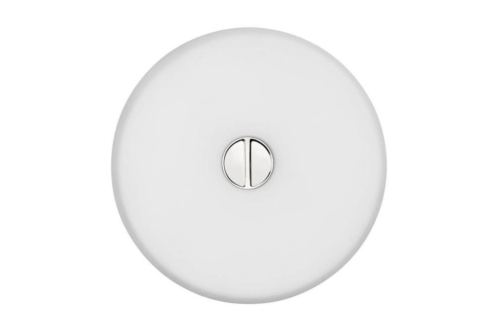 Mini Button Wall Light by Flos