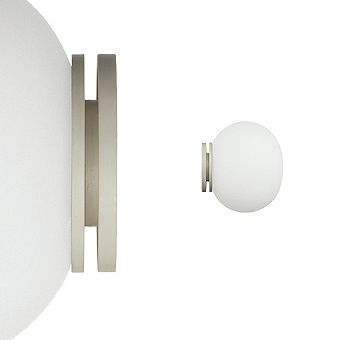 Mini Glo-Ball Ceiling/Wall Light by Flos