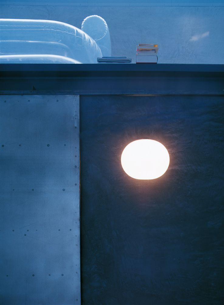 Mini glo ball ceiling wall light
