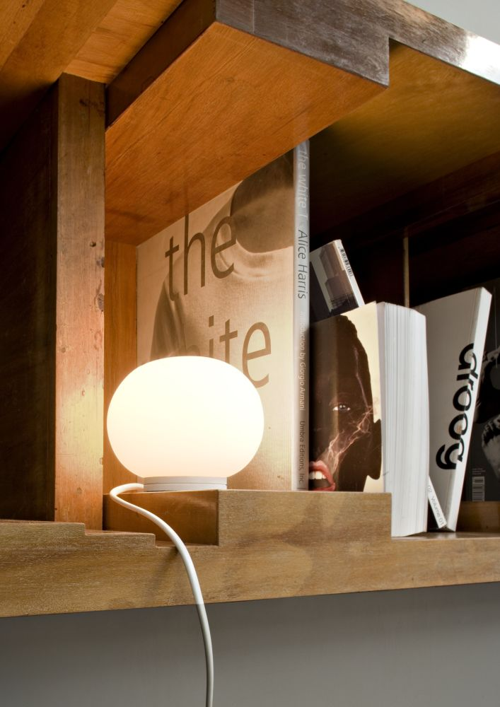 Mini Glo-Ball T Table Lamp by Jasper Morrison for Flos