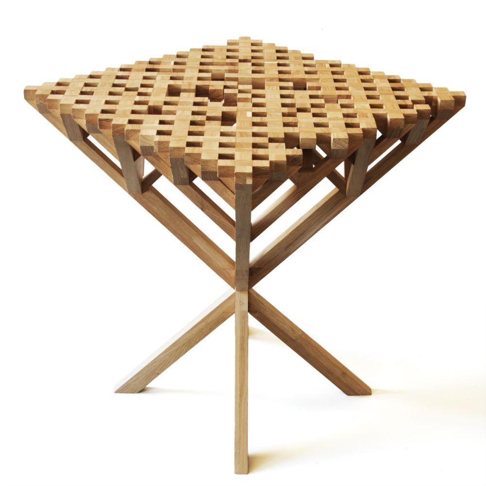 Monroe Side Table by FUNDAMENTAL.BERLIN