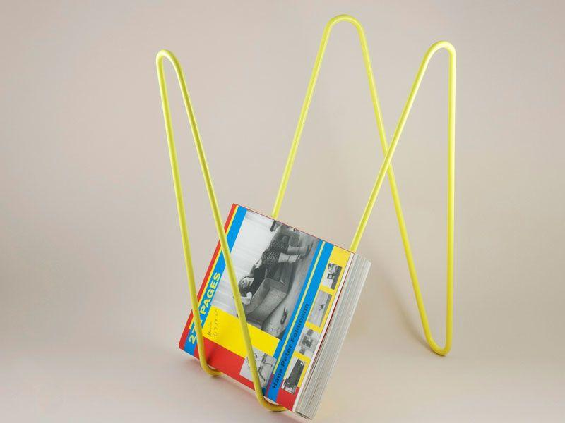 MW magazine rack yellow