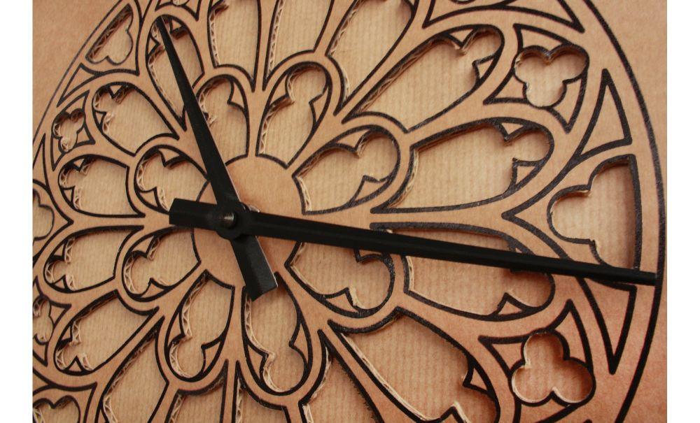 Notre Dame de Paris Clock by Karton Art Design