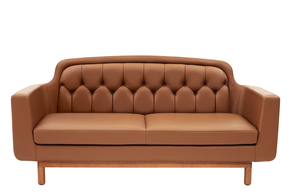 Onkel 3 Seater Sofa Cognac Leather By Normann Copenhagen