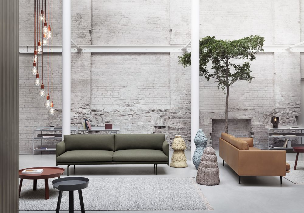 Outline Sofa - 2 Seater Fiord 151 by Anderssen & Voll for Muuto