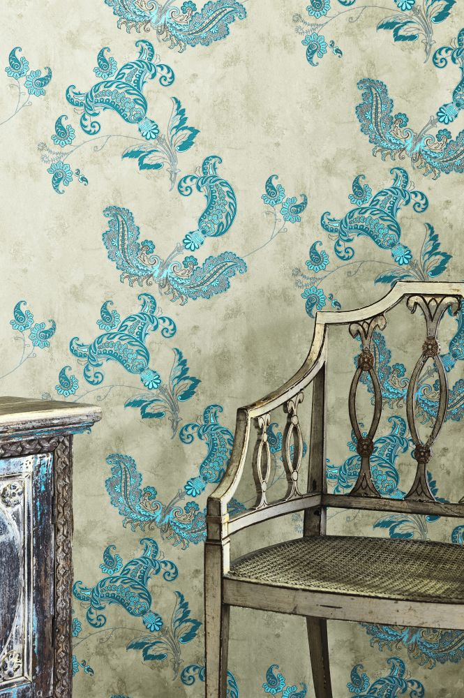 Paisley Wallpaper  by Barneby Gates