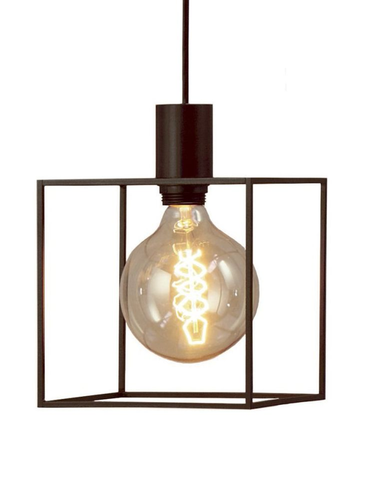 Paradice naked pendant light black iron by dyberg larsen mozeypictures Image collections