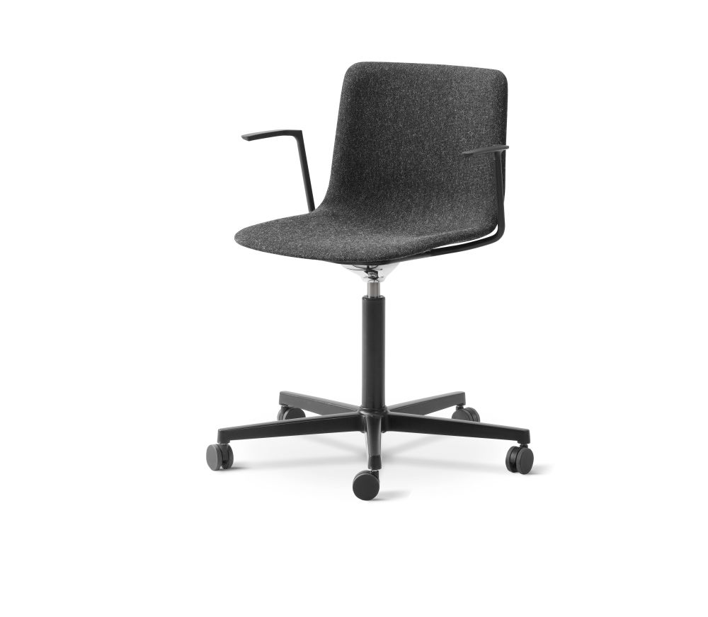 Pato Office Armchair Fully Upholstered by Fredericia