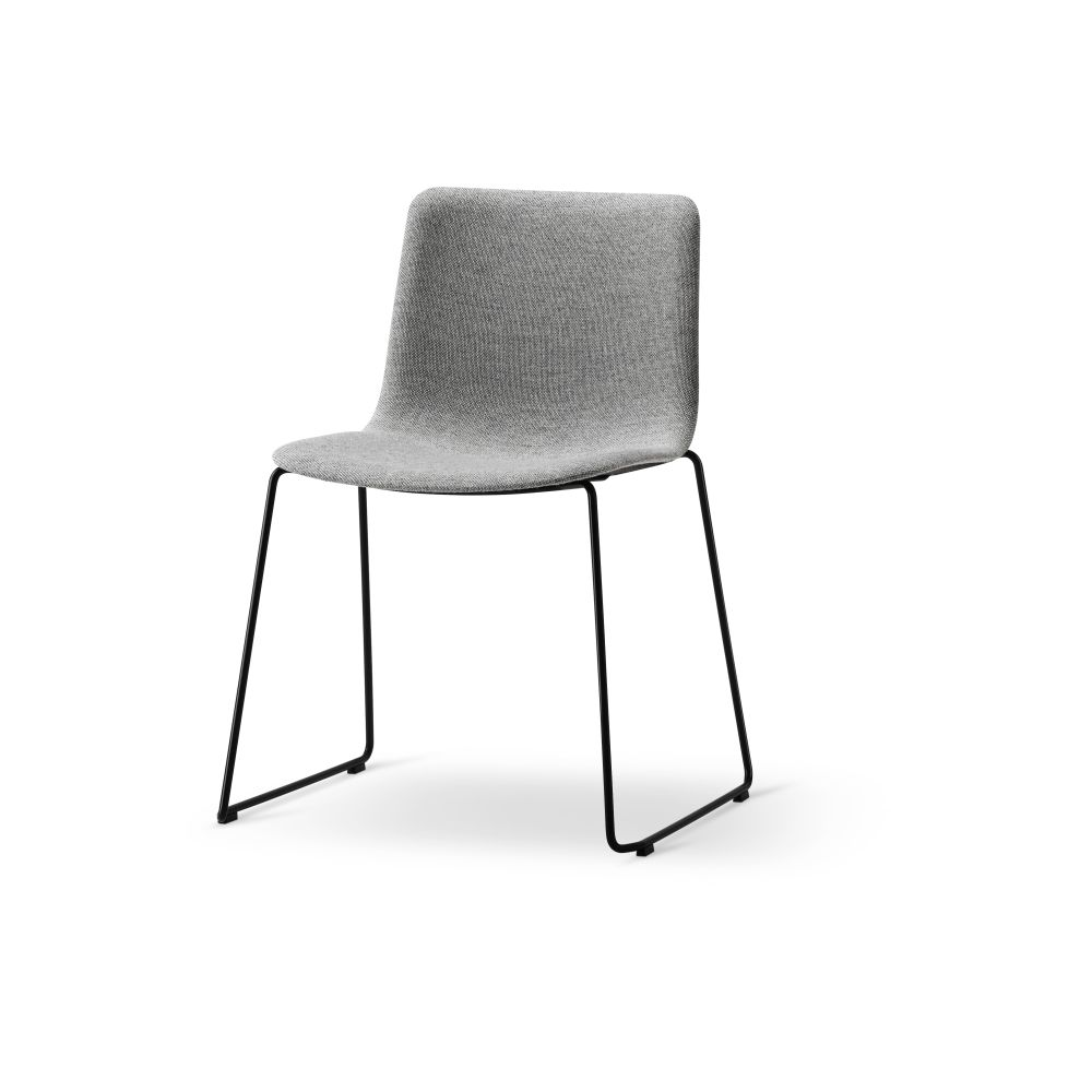 Pato Sledge Chair Fully Upholstered by Fredericia