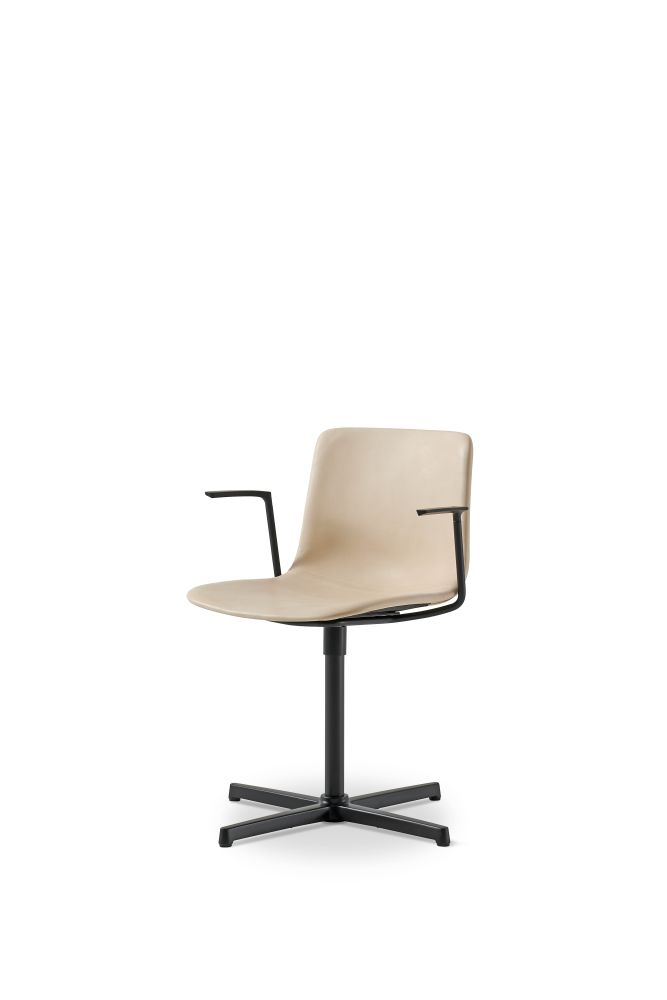 Pato Swivel Armchair Fully Upholstered by Fredericia