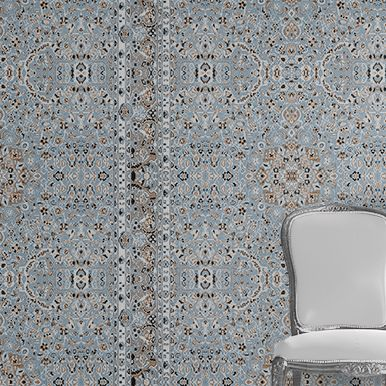 Persian Wallpaper - Blue