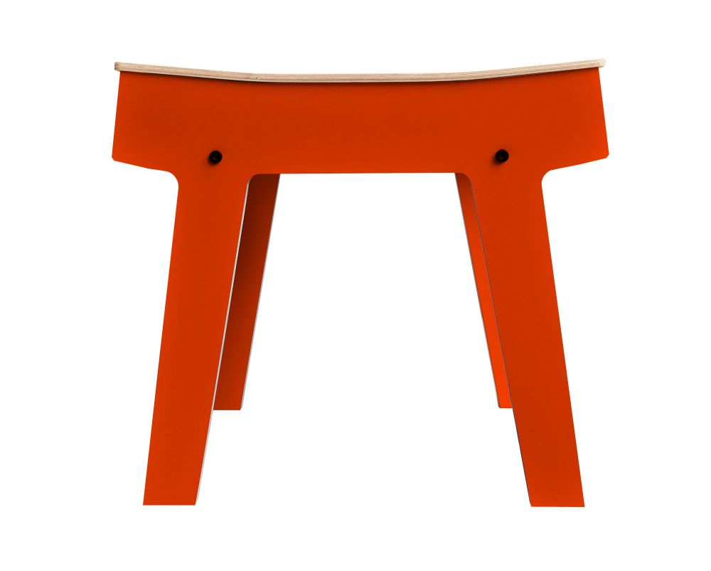 Pi Stool - Foxy Orange