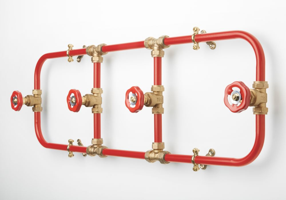 Coat Rack (Red)