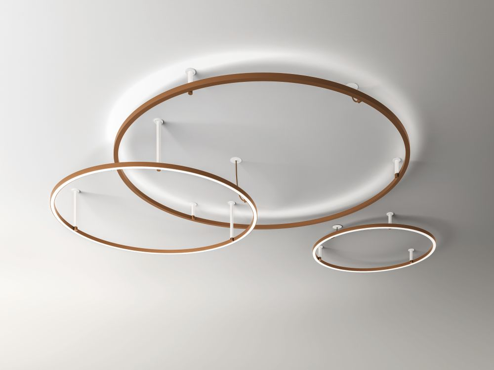 Pl u light recessed ceiling light 90 10 rust brown by axo light mozeypictures Choice Image