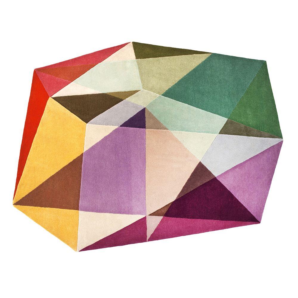 Prism Pastels Rug by Sonya Winner Studio