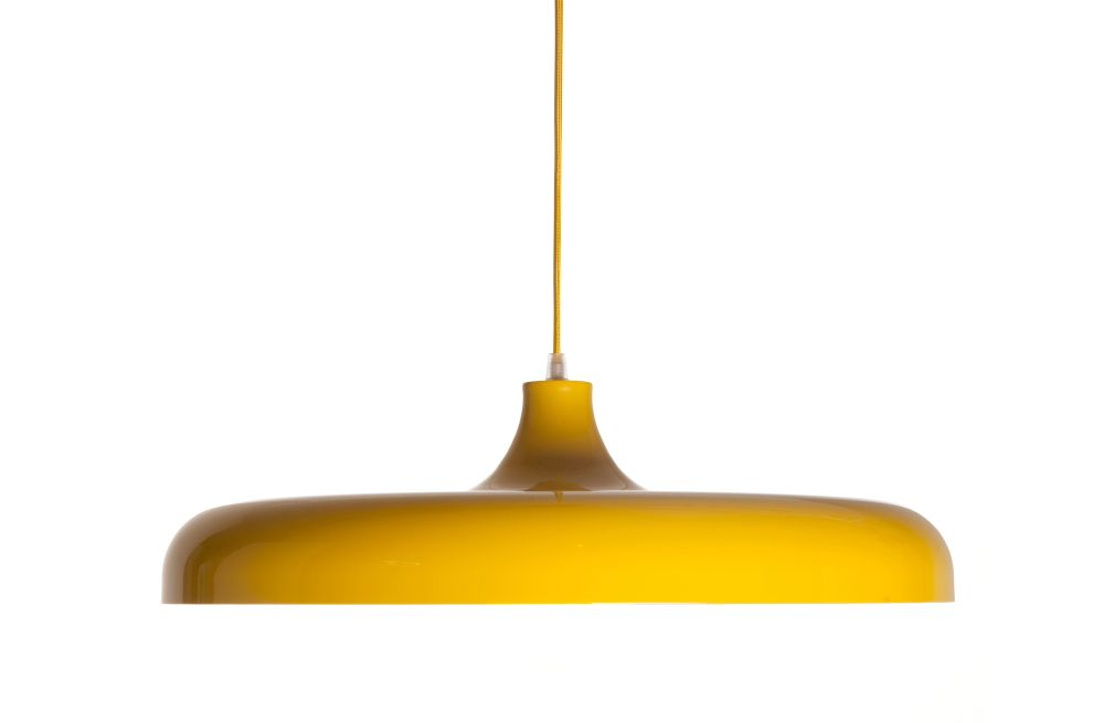 Quayside Pendant Light Yellow By Assemblyroom For Assemblyroom