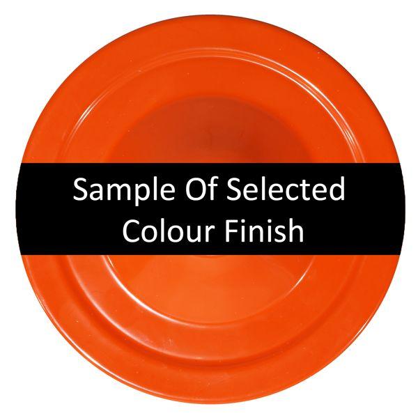 Powder Coated Orange Finish