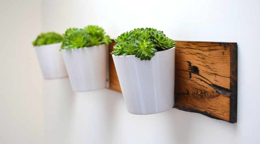 Reclaimed French Oak Planter by Jam Furniture