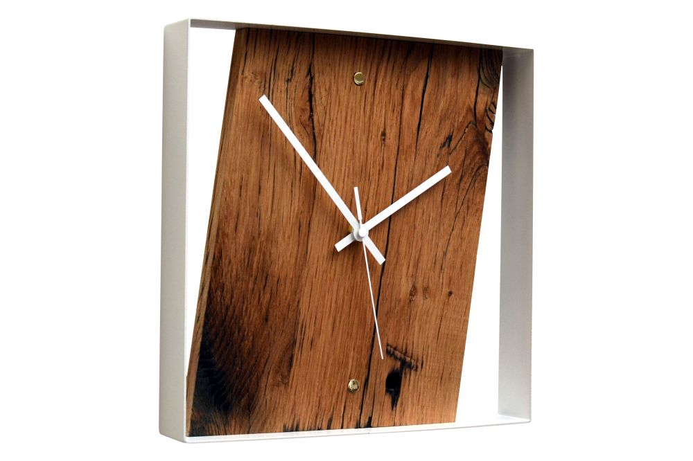 Reclaimed French Oak Wall Clock by Jam Furniture