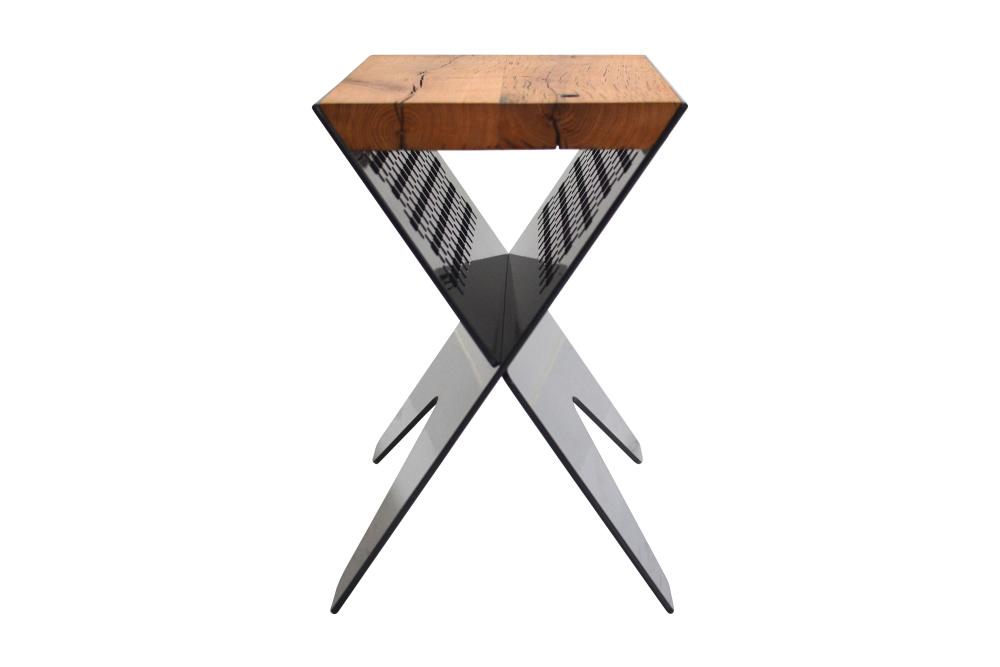 Reclaimed Oak Side Table by Jam Furniture