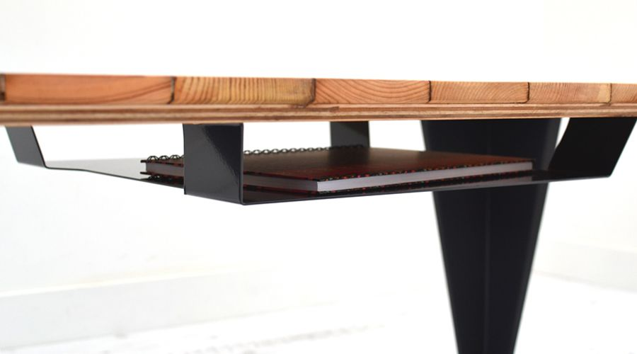 Reclaimed Parquet Coffee Table by Jam Furniture