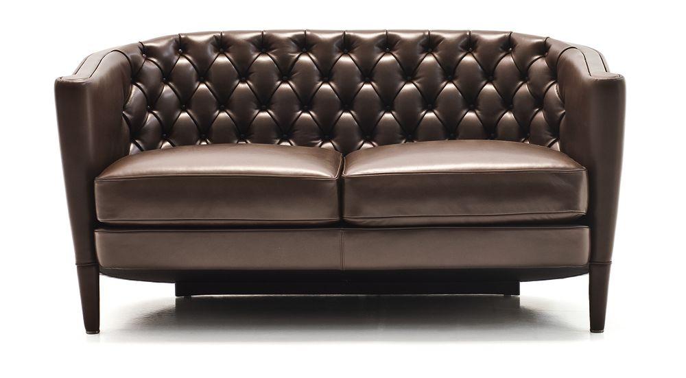 Rich Capitoné 2 Seater Sofa by Moroso
