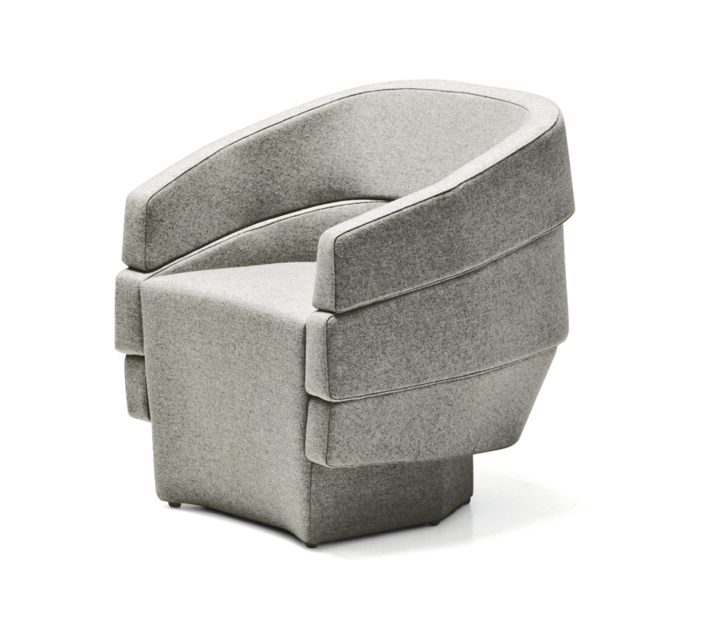 Rift Small Armchair by Moroso
