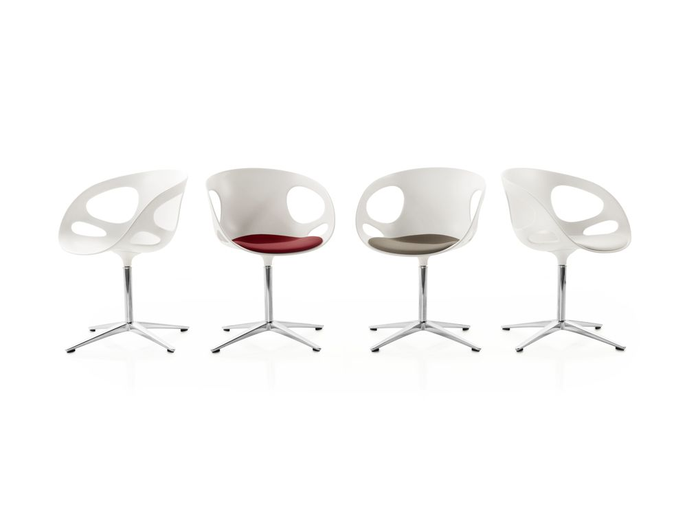 Rin Fixed Seat Upholstery Chair by Republic of Fritz Hansen